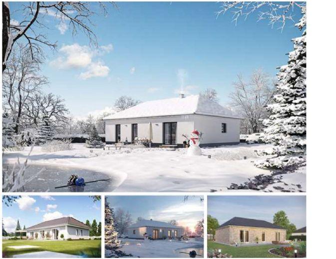 Neubau Aktionsbungalow - Heinz von Heiden Massivhaus auf ihrem Grundstück
