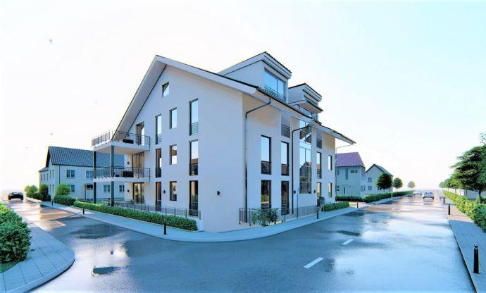 Exklusive Neubau 2-Zimmer Souterrain Eigentumswohnung mit Loggia