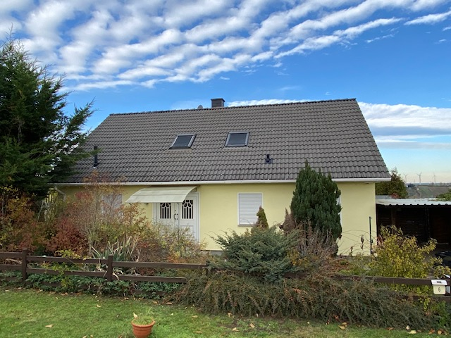 schönes Einfamilienhaus mit toller Aussicht