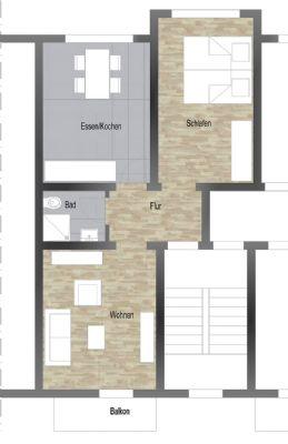 Wohnung mit Balkon am Westpark, WG-geeignet
