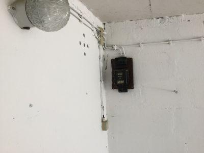 Stromanschluss/ Licht