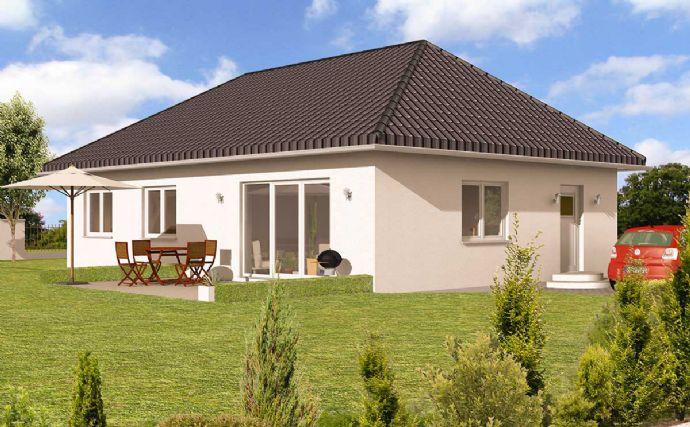 Haus statt Mietwohnung, Bungalow auf 521 m² Grundstück in zentraler Lage