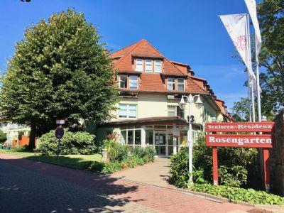 Attraktive Kapitalanlage in der Senioren-Residenz Rosengarten: 2-Zimmer-Wohnung mit Terrasse!