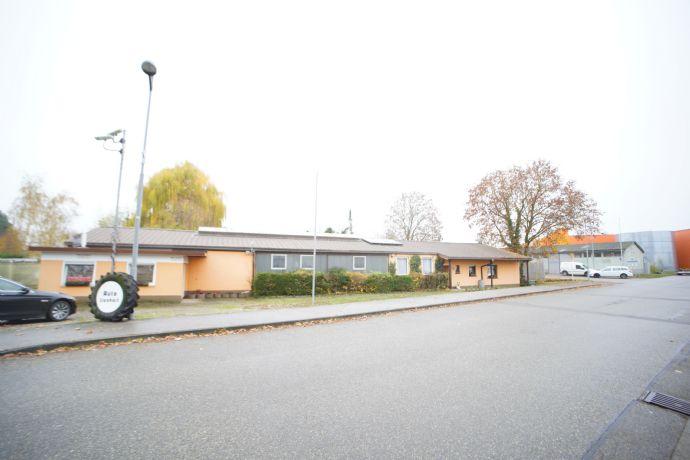 Wohnhaus, Halle und KFZ Werkstatt auf 2.250 m² Grundstück