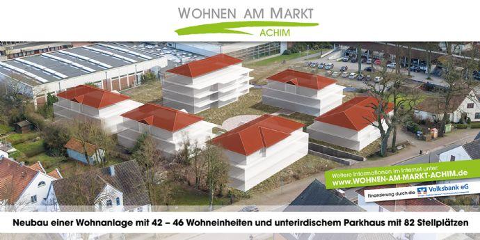 Wohnen-am-Markt in Achim, 3-Zimmer-Wohnung 1. OG ERSTBEZUG