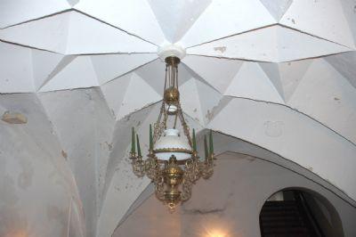 Deckengewölbe in der Eingangshalle