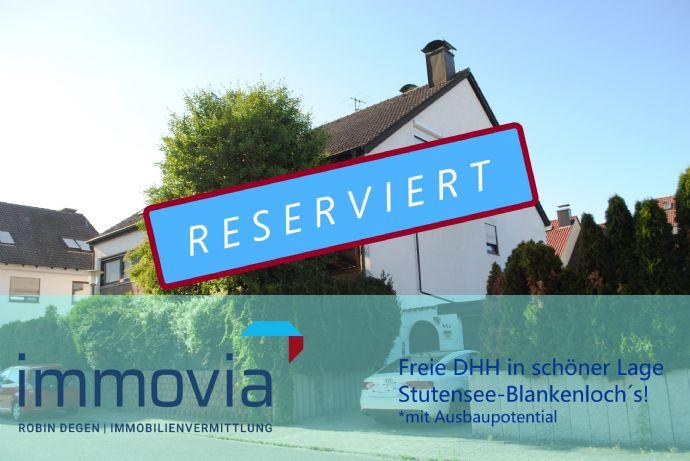 Doppelhaushälfte zum Verlieben! Tolles Ausbaupotential in Stutensee Blankenloch!