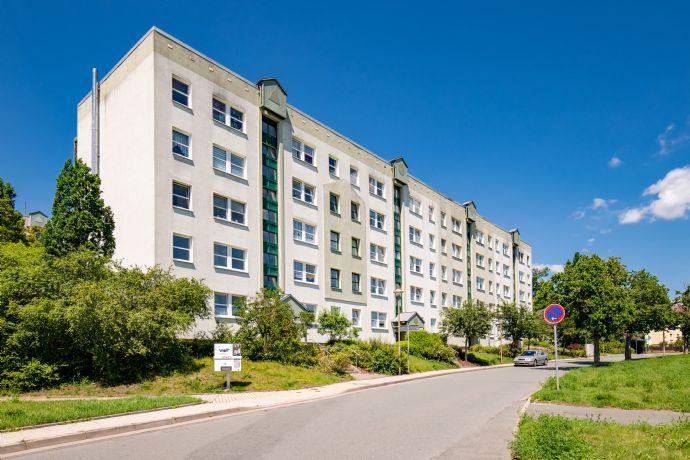 3-Raum-Wohnung in Rudolstadt- West zu