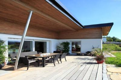 bungalow mit 87 m ausbauhaus ab ohne keller bodenplatte grundst ck nicht im preis. Black Bedroom Furniture Sets. Home Design Ideas
