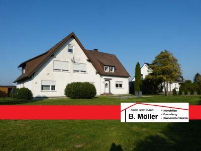 Kernsanierte 85m² große EG-Wohnung mit großem Garten und Fernblick in Bad Salzuflen-Kusenbaum zu vermieten