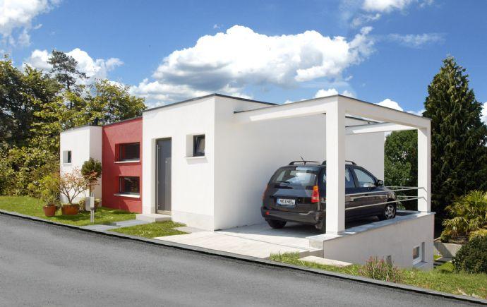 Architektenhaus im bauhausstil einfamilienhaus n rnberg for Architektenhaus bauhausstil