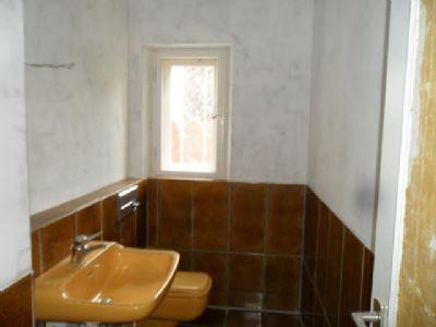 WC im Eingangsbereich