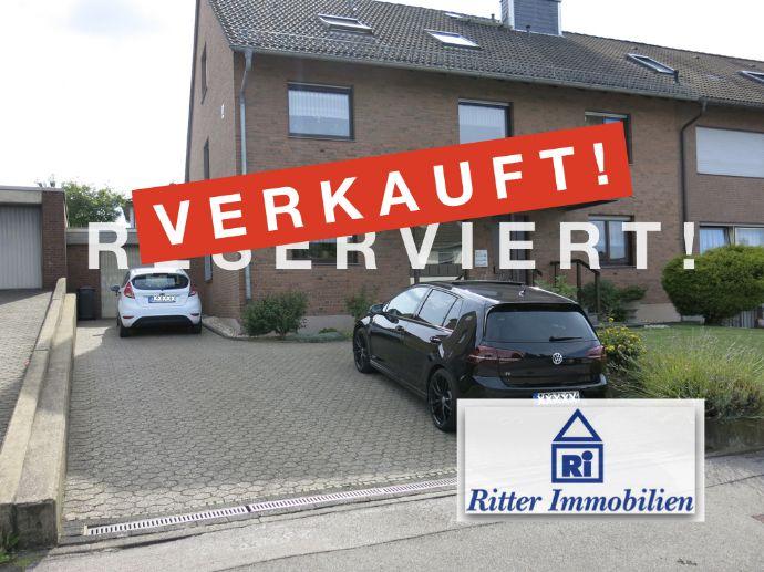 V E R K A U F T ! Ansprechende Lage, top solides 2-Familienhaus mit schönem Garten u. Garage in Stolberg-Gressenich