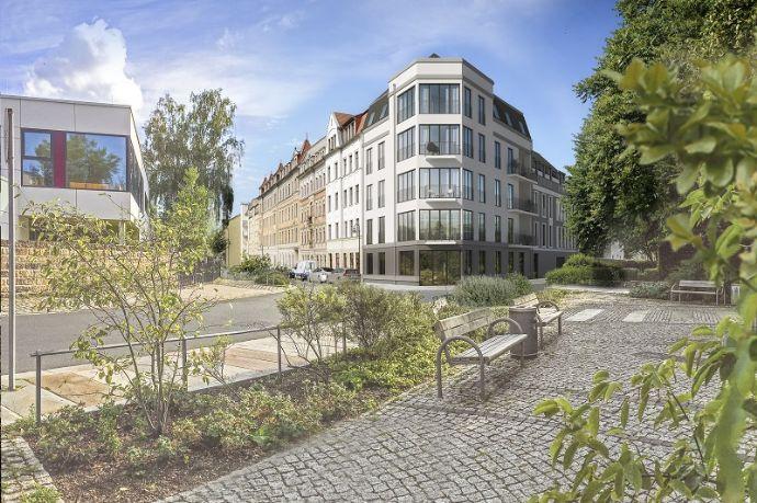über den Dächern von Dresden / energieeffizienter Neubau / große Terrasse / Fußbodenheizung / Lift / Stellplatz