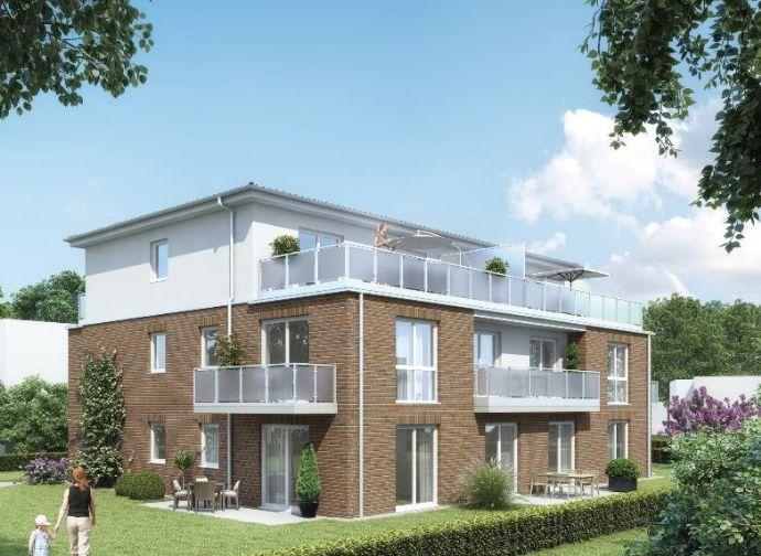 ERSTBEZUG! 2-Zimmer-Wohnung mit 54,06 m² Wfl. mit Südbalkon