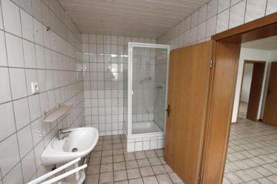 Duschbad der 2-Raumwohnung