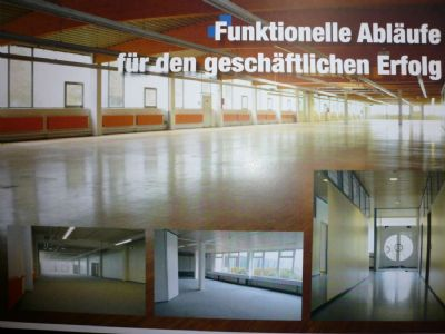 Königheim Halle, Königheim Hallenfläche