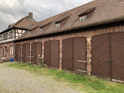 Hohenroda Garage, Hohenroda Stellplatz