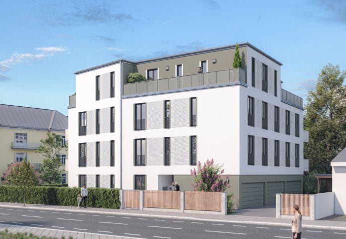 2 Zimmer mit Balkon,  Bad mit Fenster, Aufzug, Stellplatz falls gewünscht, Keller, Fahrradkeller,..
