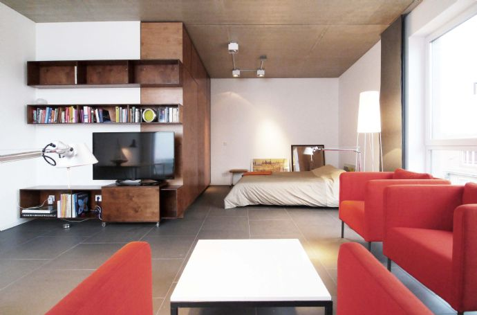 Top 100 m² 2-Zimmer-Penthouse mit