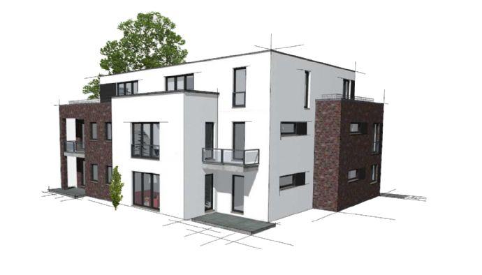 Exklusive 3-Zimmer Neubau Wohnung in ruhiger Lage nähe des Zentrums von Eidelstedt