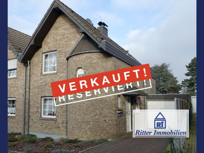 VERKAUFT! Top solides Einfamilienhaus mit schönem Garten und großer Garage