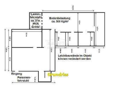 Vertriebsburo Ausstellung Lager Nahe Zentrum Wande Entfernbar