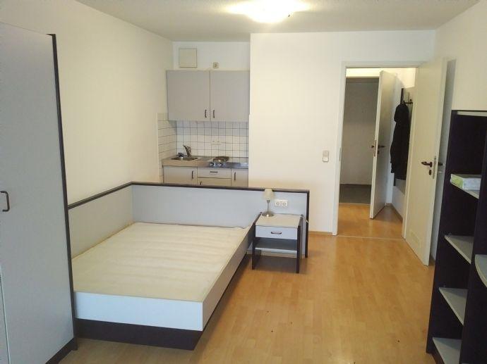 1-Zimmer-Appartment, 32 m2, möbliert, frei ab 1.3.2020, Besichtigungen ab 24.2. möglich