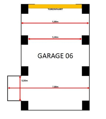 Riesa Garage, Riesa Stellplatz