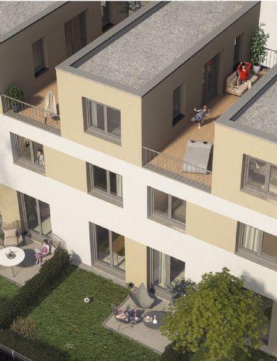 Ende 2019 bezugsfertig - Reihenhaus mit Garten und Dachterrasse