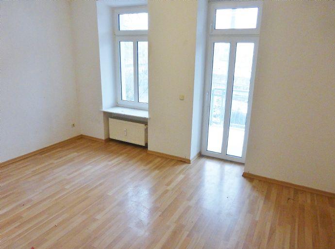Elegante 2-Raum-Wohnung mit Balkon am Karl-Heine-Kanal