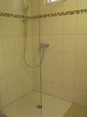 Dusche ohne Barriere