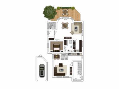Wohnung 1/ Wohnung 2