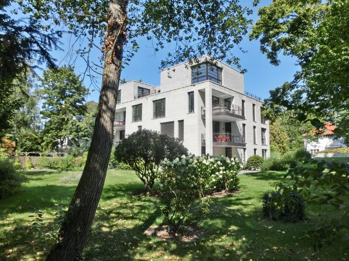 Provisionsfrei: Grunewald - Exklusiver Neubau mit 7 Whg., Remise & TG. Penthouse & Remise auf Wunsch auch unvermietet