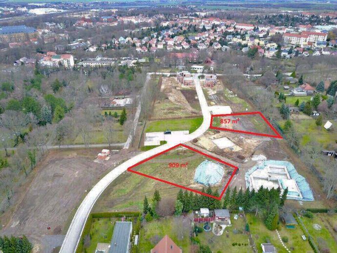 Baugrundstücke TOP Lage direkt in Weißenfels ab 850m² voll erschlossen ab 80/m²