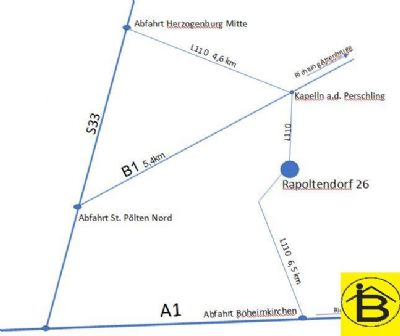 Rapoltendorf Büros, Büroräume, Büroflächen