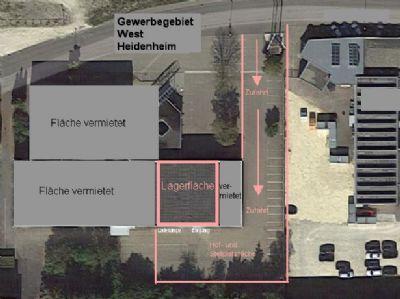 Heidenheim Halle, Heidenheim Hallenfläche