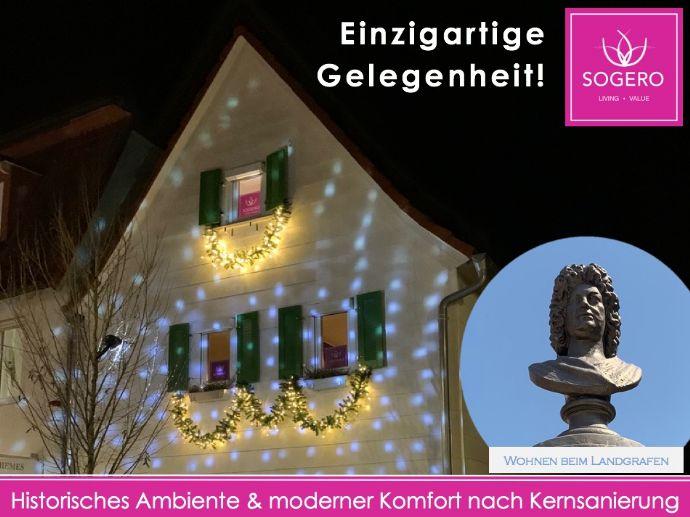 Advent beim Landgrafen - einzigartig! Historisches Ambiente & moderner Komfort in Bestlage - VIDEO