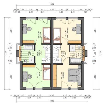 hier heisst es schnell sein 2 x doppelhaus inkl keller in gesuchter lage von unterhaching. Black Bedroom Furniture Sets. Home Design Ideas