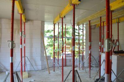 Baustelle Wohnzimmer
