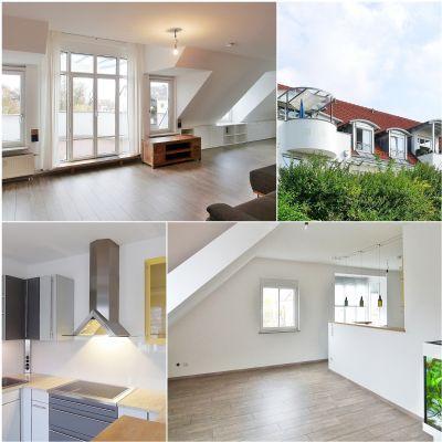 Aparte, helle 4,5-Zimmer-DG-Wohnung in bester Lage von Freising