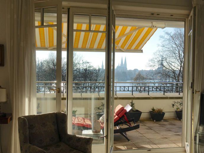 Wunderschönes Penthouse mit Blick auf Lübeck