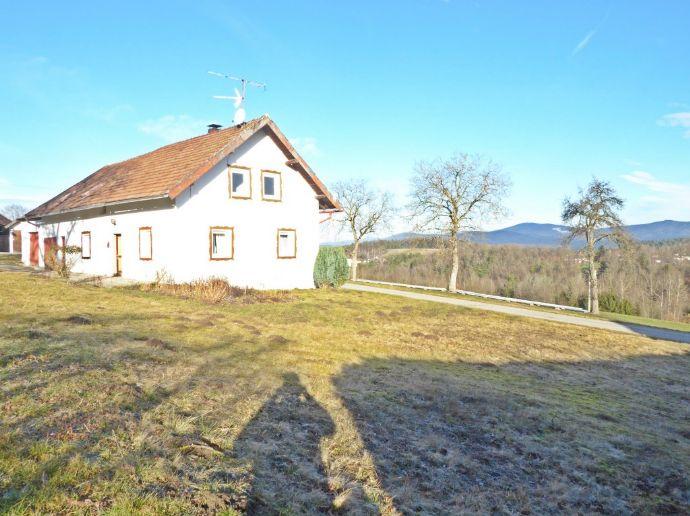 Sanierungsbedürftiges Haus in absoluter Traumlage von Fürstenstein zu verkaufen