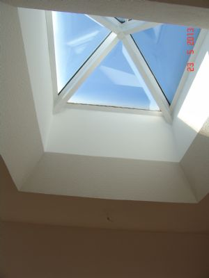 Glaskuppel Wohnzimmer