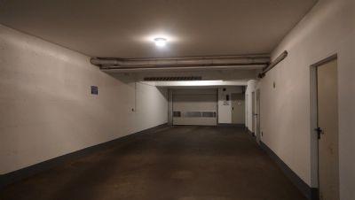 Zufahrt zur TG