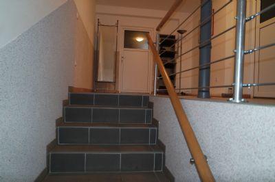 Treppe zur Einliegerwohnung OG