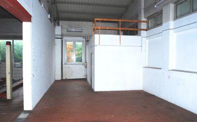 Lagerfläche und Zugang Dachlager