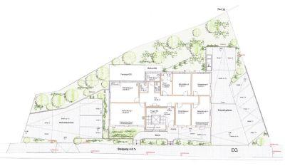 Gestaltungsplan für den Außenbereich