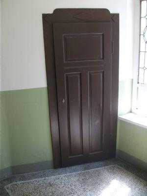 Abstellraum im Treppenhaus