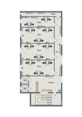 neues b ro provisionsfrei f r den mieter b rofl che hausmannst tten 2c2uv4u. Black Bedroom Furniture Sets. Home Design Ideas